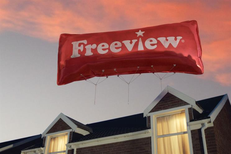 Freeview: launches TV ad campaign