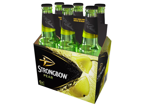Strongbow: highest share of voice