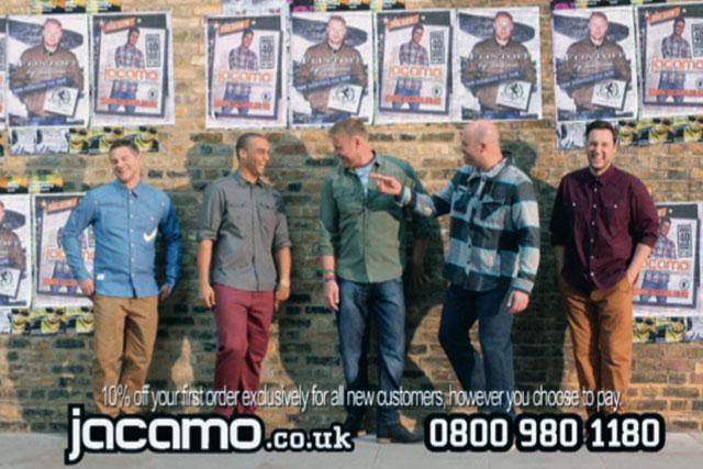 Jacamo ad introduces ex-cricketer Flintoff as the retailer's spokesman