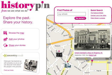 Historypin: Google unveils history site