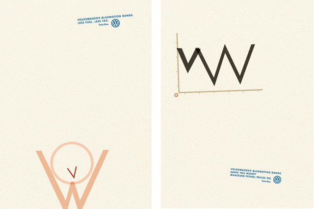 VW... DDB's work is shortlisted