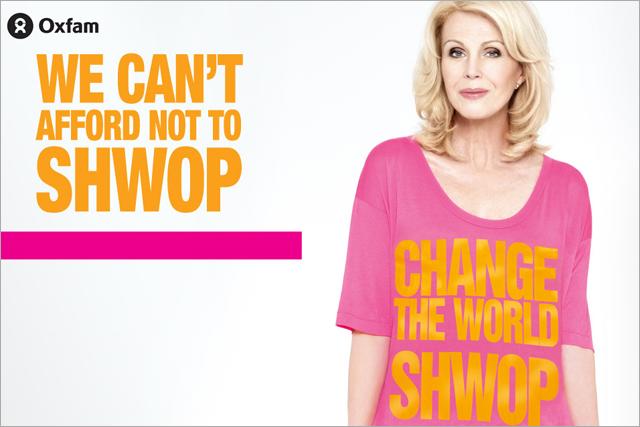 Joann Lumley: backs the M&S shwop campaign
