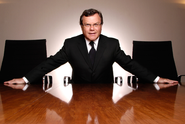 Sir Martin Sorrell: chief executive of WPP