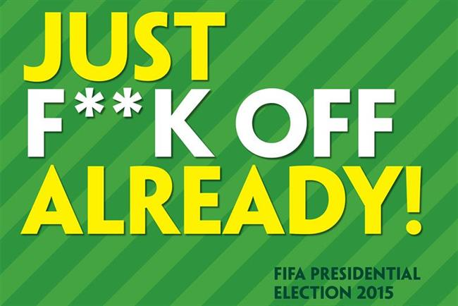 No ban for Paddy Power's sweary ad mocking Fifa president Sepp Blatter