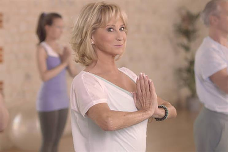 Felicity Kendal: stars in 2013 Healthspan campaign