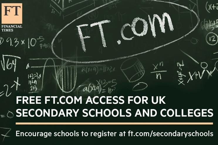 FT: teams up with Lloyd's Bank to offer students free access