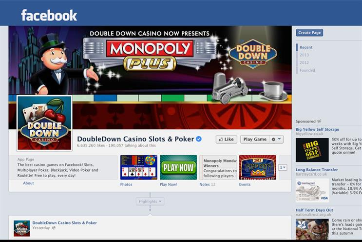 DoubleDown Casino: reported an increase in app downloads after using Mobile App Ads for Installs