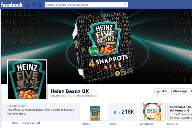 Heinz: backed Snap Pots trial with regular posts on social media