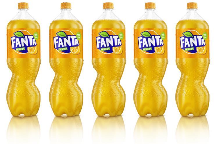 Fanta: bottle is industry first