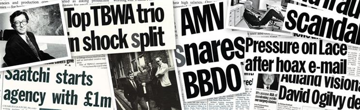 You saw it here first: 49 years of Campaign's best front pages