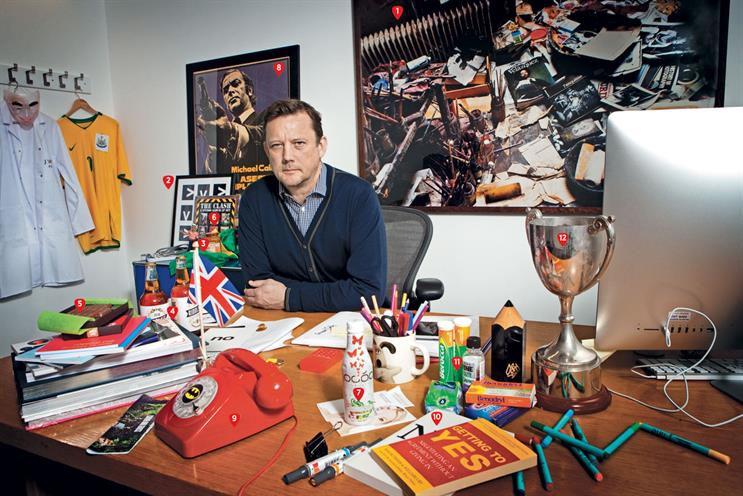 My desk: Russell Ramsey