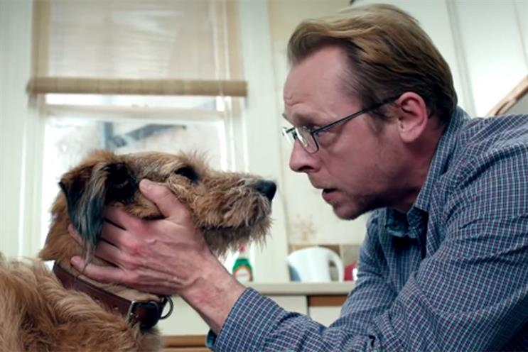 Absolutely Anything: stars Robin Williams as the voice of Dennis the dog, alongside Simon Pegg