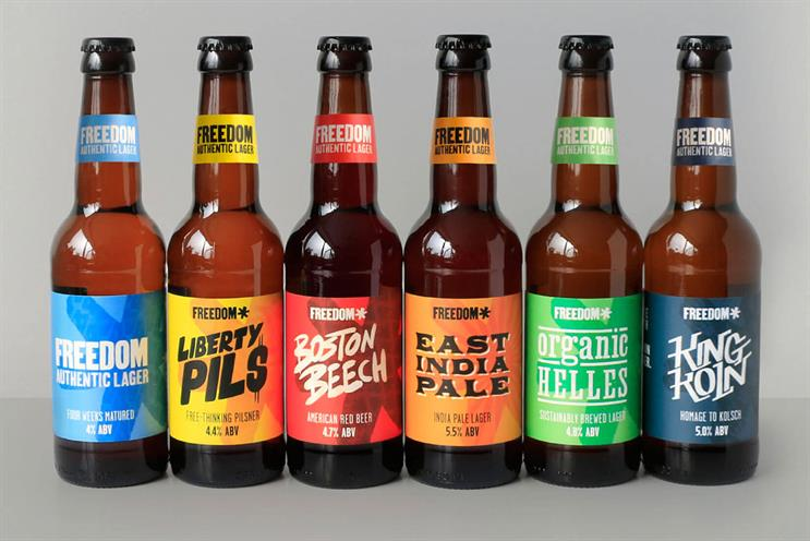 CHI & Partners takes stake in craft beer Freedom