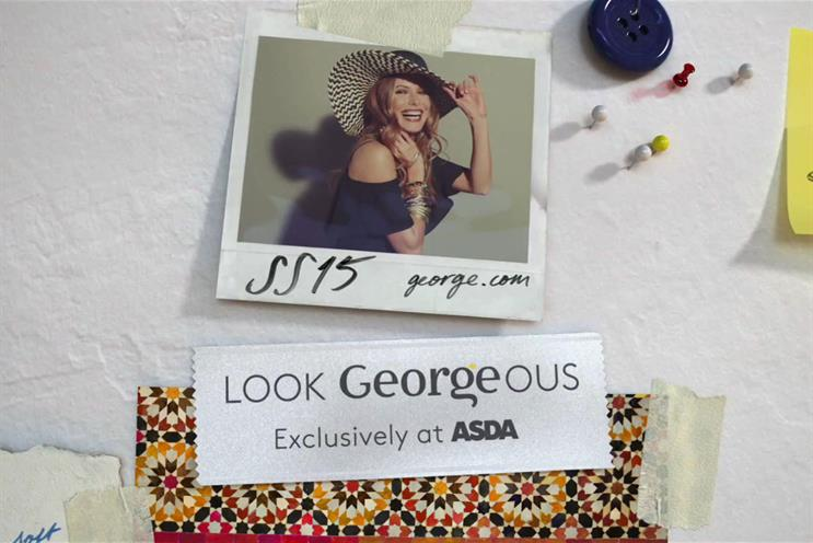 George: Blue 449 oversees media for Asda's clothing brand