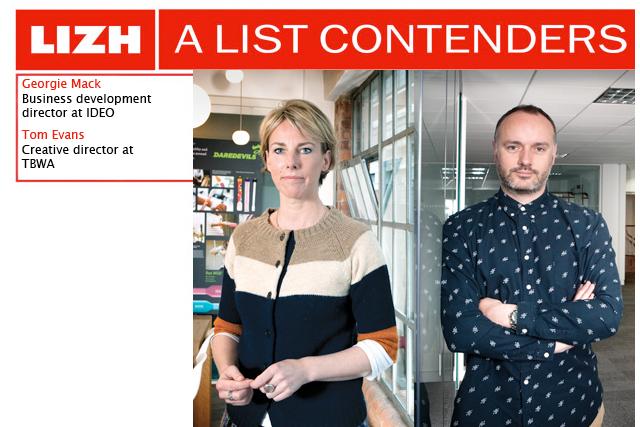 A List Contenders: Georgie Mack and Tom Evans