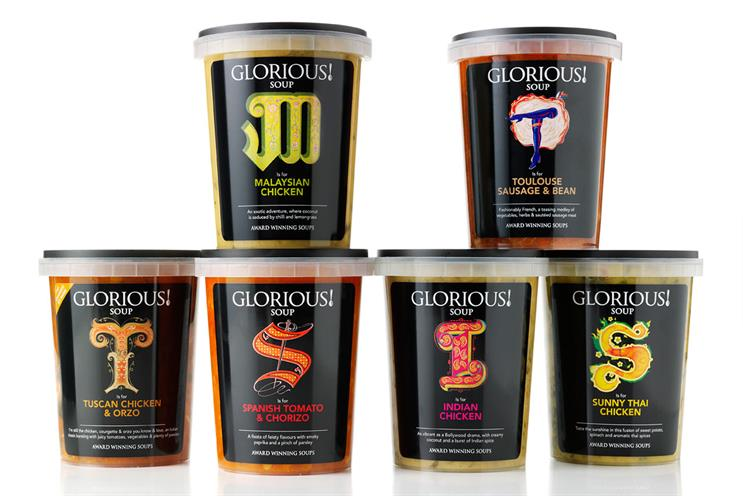 Glorious!: Goodstuff handles media activity, targeting young, upmarket consumers