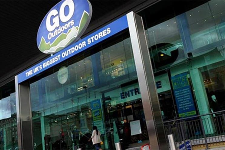 Go Outdoors: it has appointed Driven to handle its creative and strategic ad business