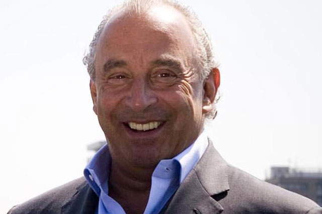 Sir Philip Green: owner of the Arcadia Group