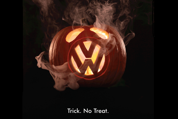 Greenpeace targets VW with Halloween ad