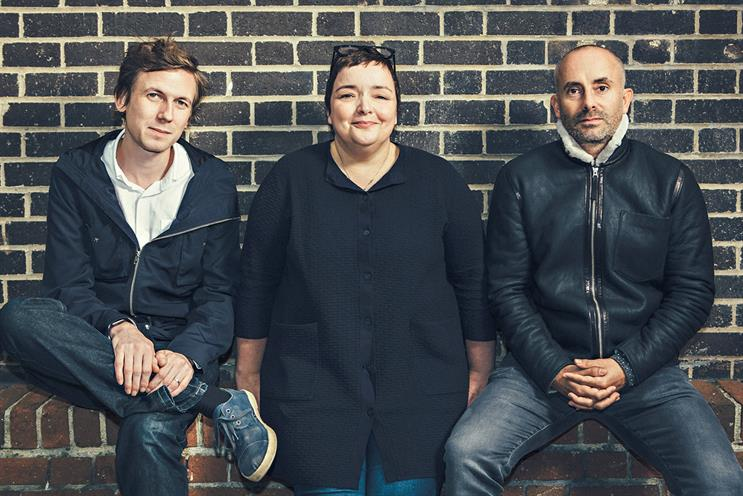 Grey creative leadership team (left to right): Nightingale, Maguire and Goldman