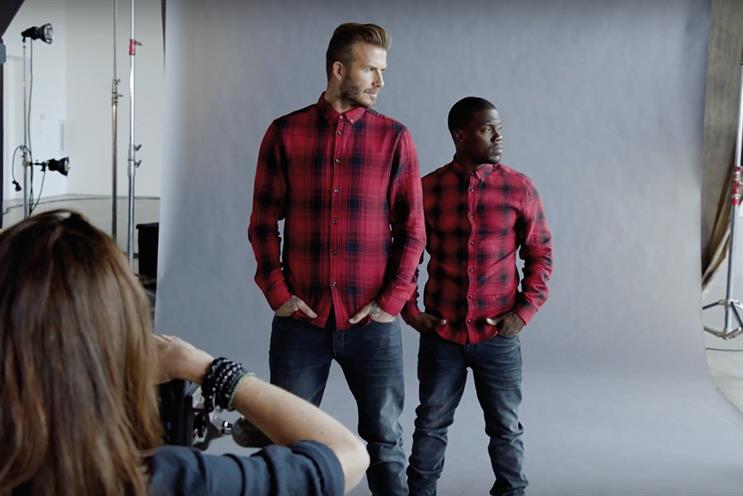 The buzz: David Beckham's leading role in H&M film