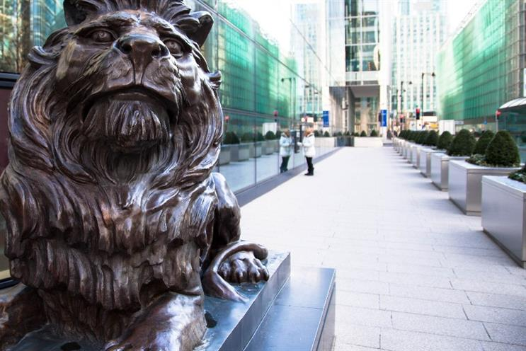 HSBC's head offices in London's Canary Wharf