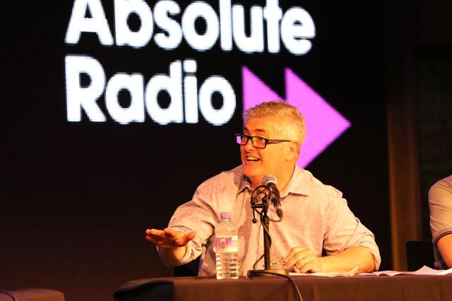 Nick Hancock: host of Absolute Radio's The Manuscript