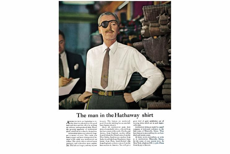 History of advertising: No 110: The Hathaway man's eyepatch