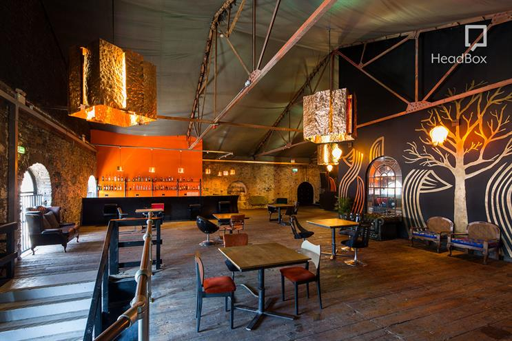 Just one of the thousands of creative, quirky and inspiring venues available to book with HeadBox