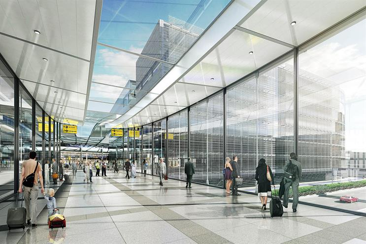 Heathrow: Saatchi Masius has created ads promoting its proposal to build a third runway