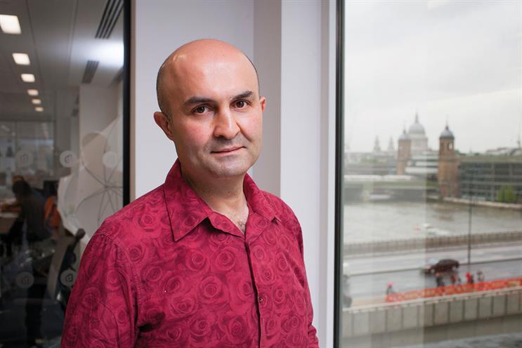 Omaid Hiwaizi: was at Geometry Global before Blippar