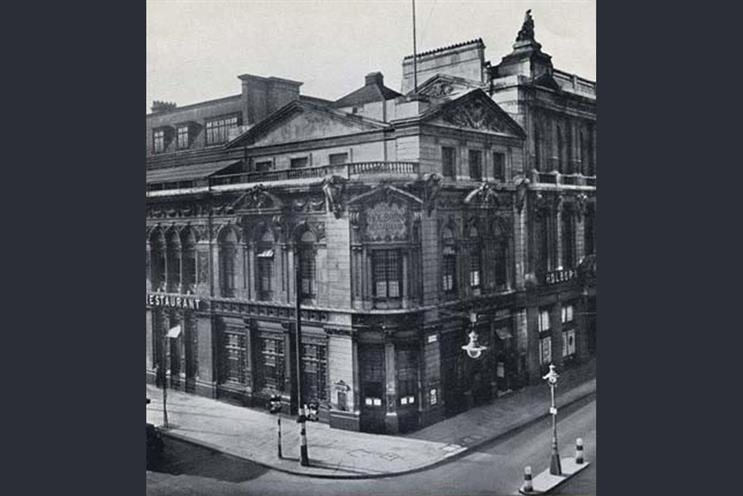History of advertising: No 127: The Holborn Restaurant