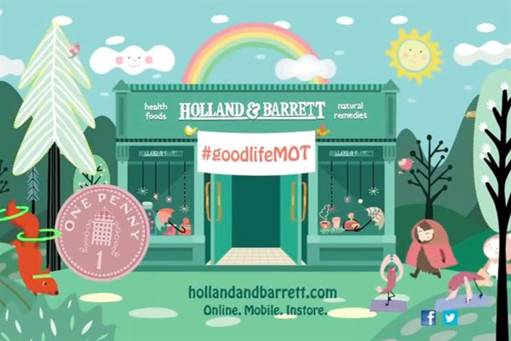 Holland & Barrett: hands creative task to FCB Inferno