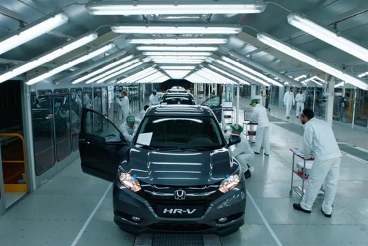 Honda: Karmarama handles sponsorship activity