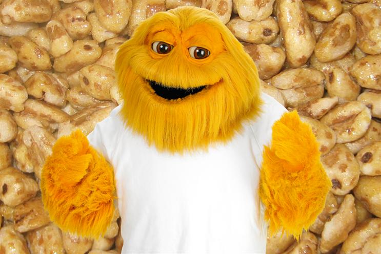 Honey Monster: the Sugar Puffs mascot