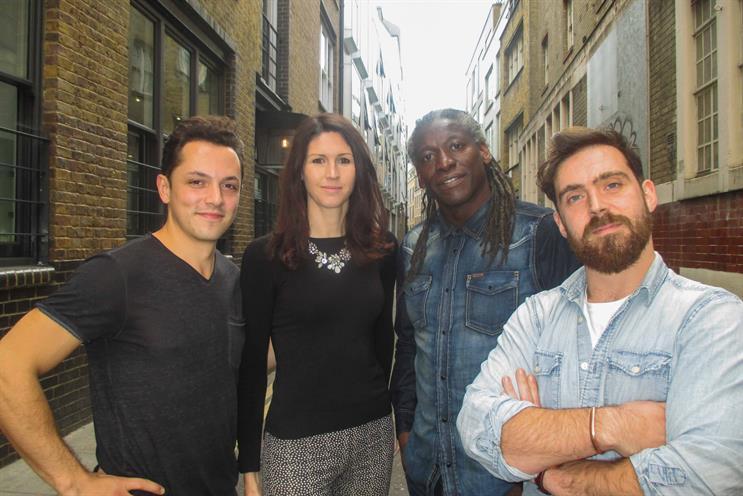Left to right: Diego Chicharro Turbet-Delof, Laura Derbyshire, Trevor Robinson, Dave Owen