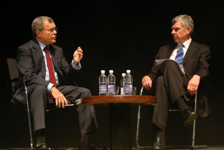 Sir Martin Sorrell interviewed by Richard Eyre at IAB Engage
