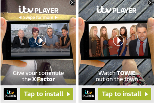 ITV: rolls out timed ads
