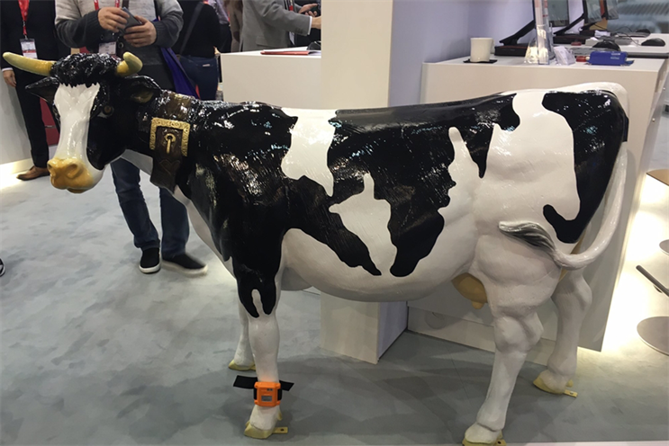The Internet of Cows: connected devices for cows debuted at Mobile World Congress