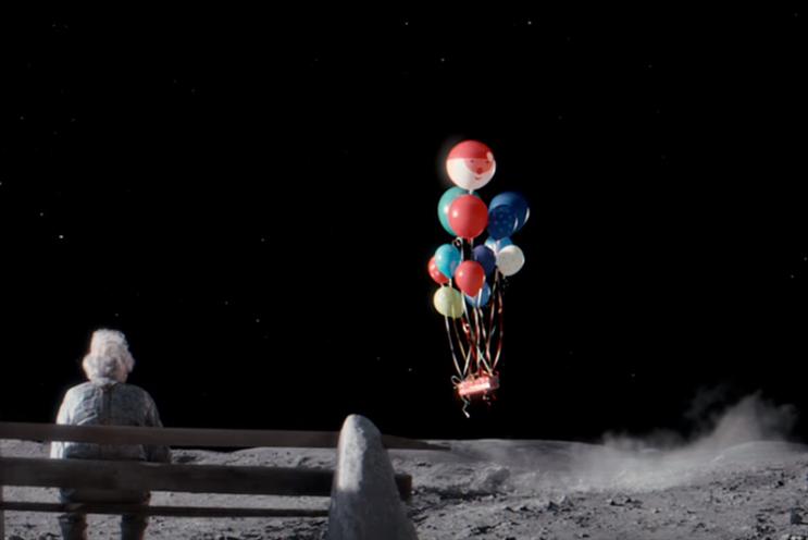 John Lewis: 'Man on the Moon' by Adam & Eve/DDB