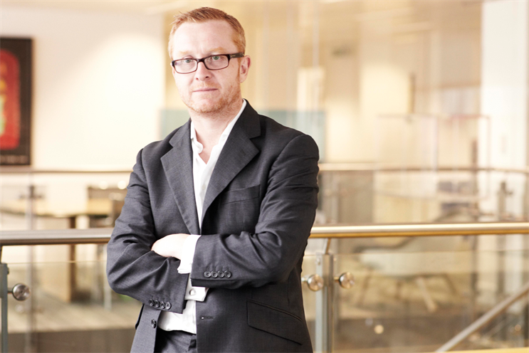 Quinn: joined Publicis in 2012 after a 12-month period of gardening leave from JWT London