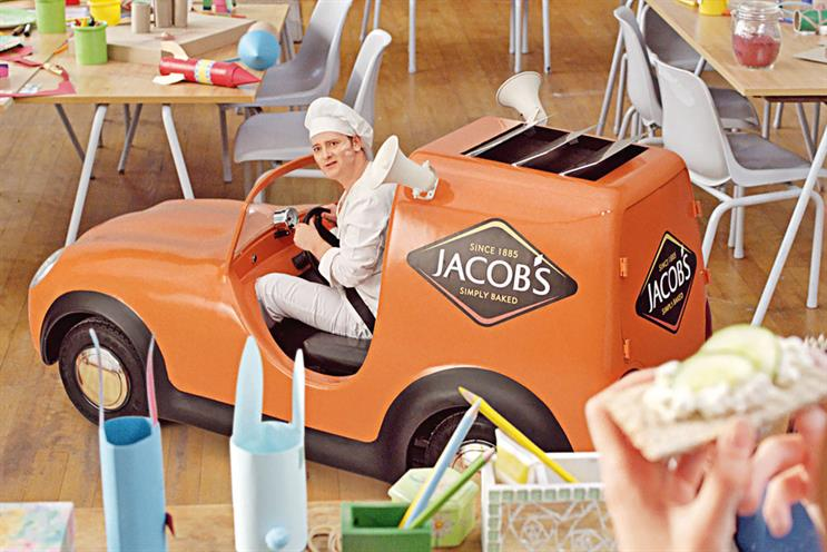 Jacob's: recently launched a £4m campaign for a new product