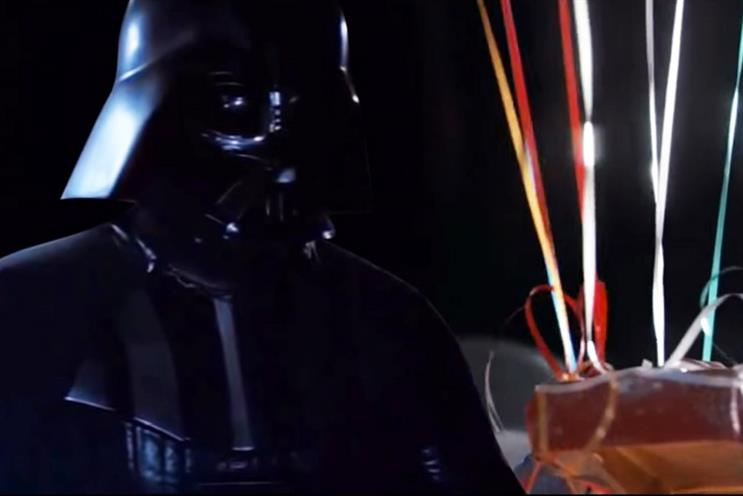 What if the man on the moon is actually Darth Vader?