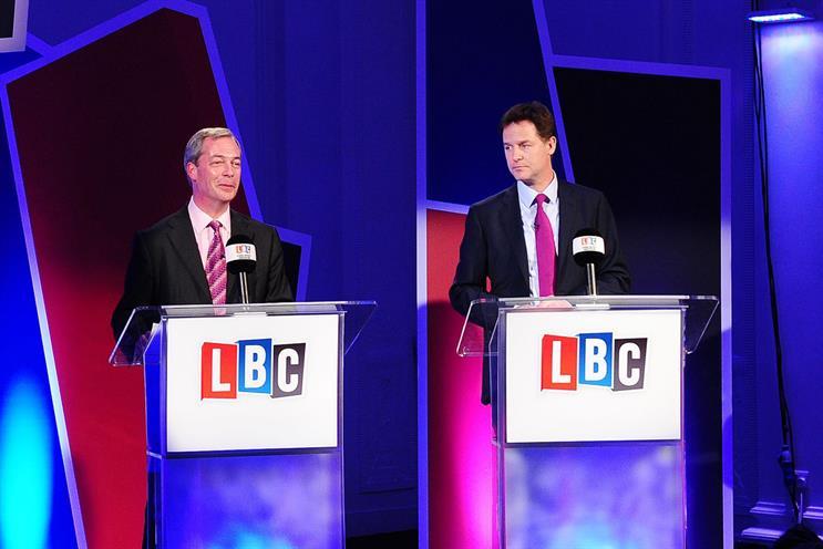 Things we like: LBC's Farage vs. Clegg