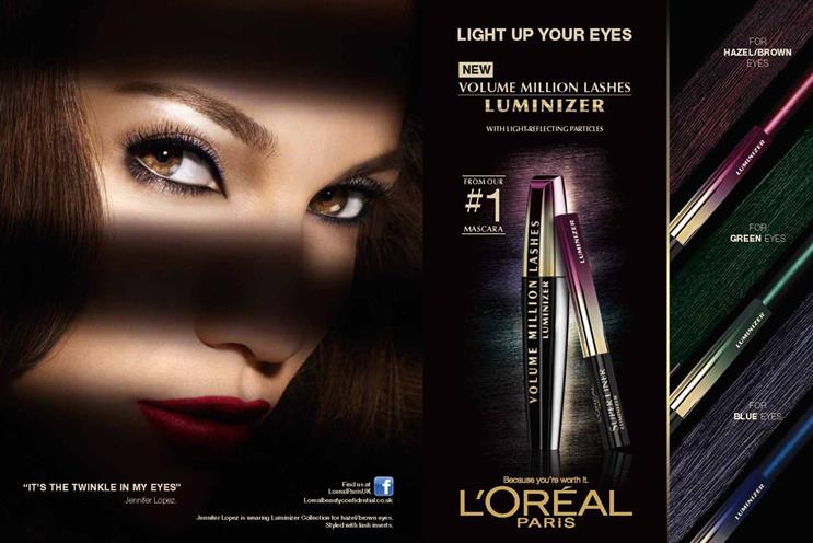 L'Oréal: Maxus won the business towards the end of the year, propelling it to the top of the table