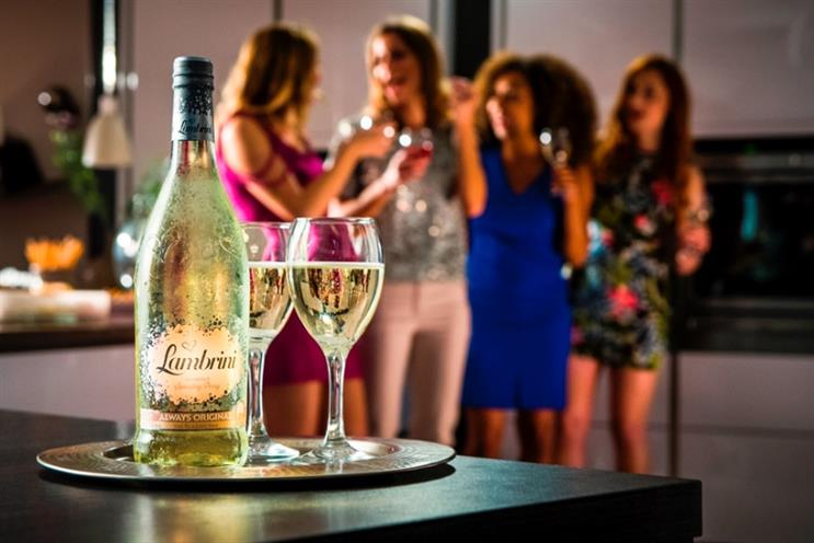 Lambrini: new look and 'Bring the Brini' strapline repositions the fruit-flavoured sparkling wine-based drink