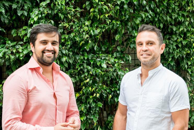 Gurman (left) and fellow co-founder of Media iQ, Lee Puri