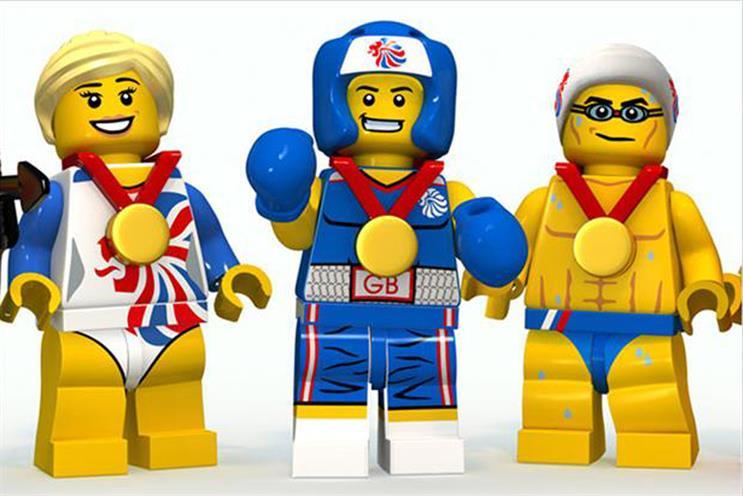 Lego: seeks shop for brand campaign