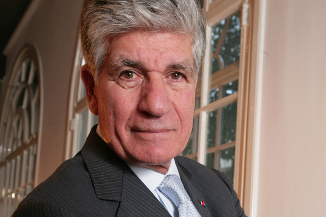 Maurice Lévy: the chief executive officer of Publicis