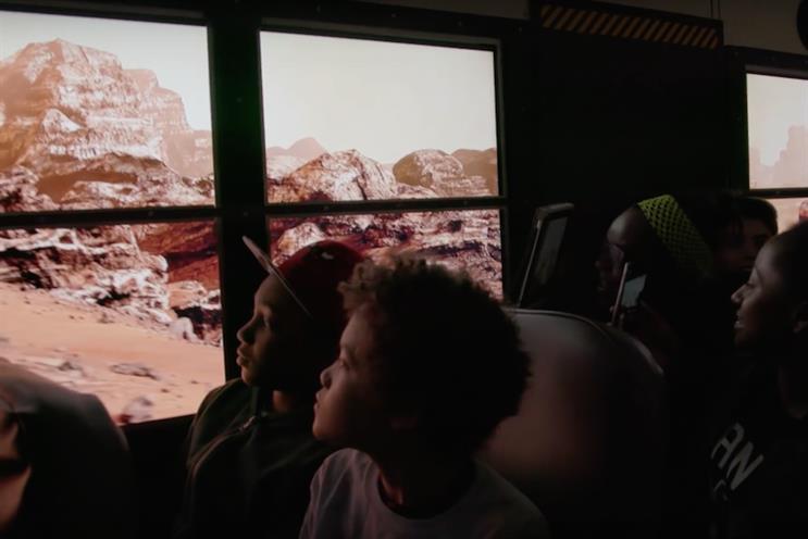 School bus turns into Mars shuttle in Lockheed science push